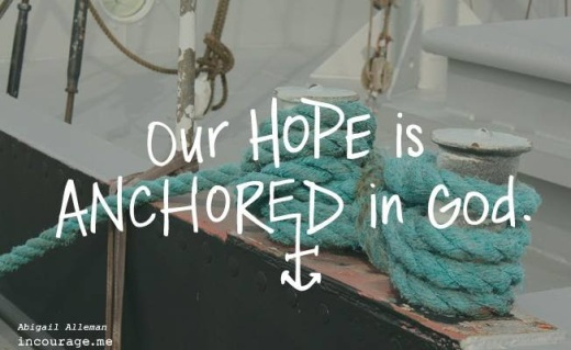 Our Hope is Anchored in God!  .jpg