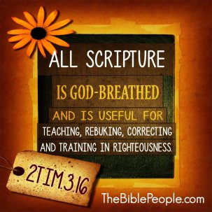 2 tim 3 16 all scripture is