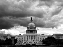 dark clouds over the white house1