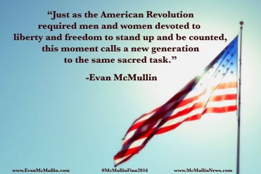 evan mcmullin just as in the american revolution people had to stand up and risk all also now